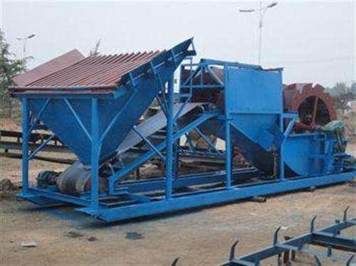 吉安细沙回收机河道清淤设备水洗轮