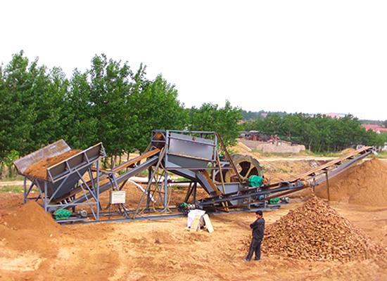 高频脱水筛鹅卵石破碎制沙生产线安康