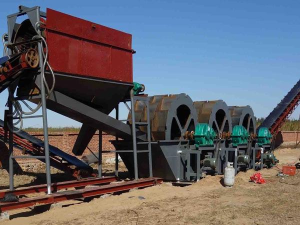 黑河絞吸船鼓动流槽细沙回收机