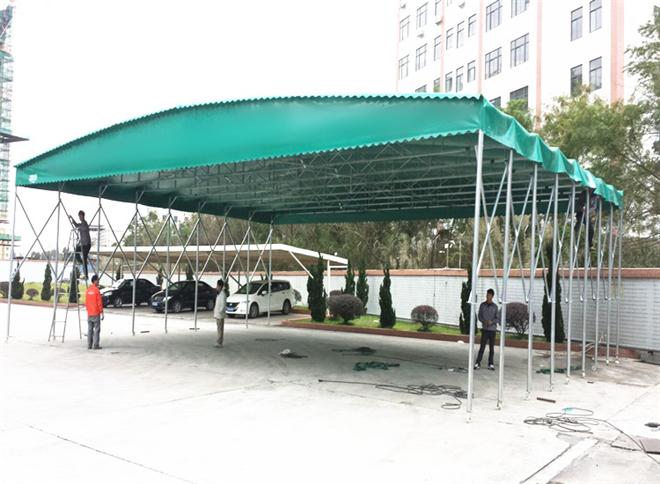 河南新乡市卫滨雨篷
