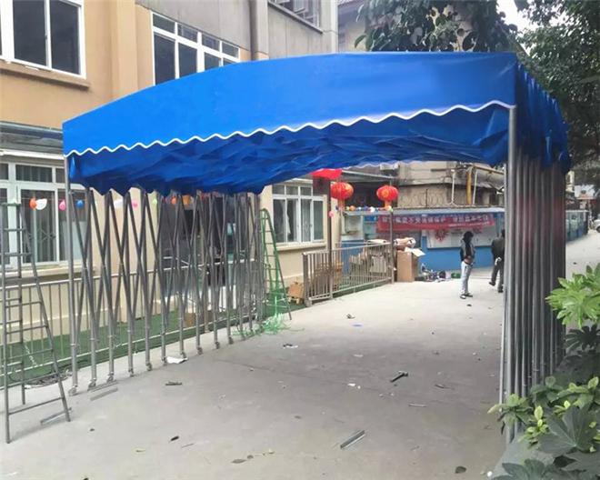 【上海嘉定】推拉式移动雨棚【地区】价格