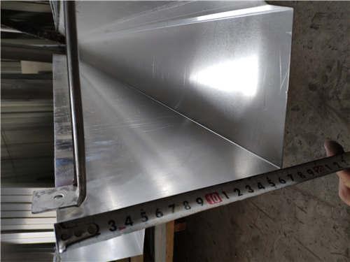 海南省方形铝合金雨水管施工视频