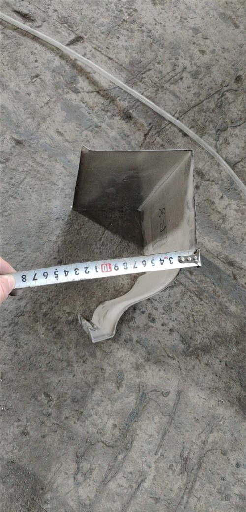 贵州省黔西南市安龙县方形铝合金雨水管施工视频