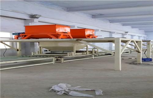 金昌模箱压制匀质板生产线图片