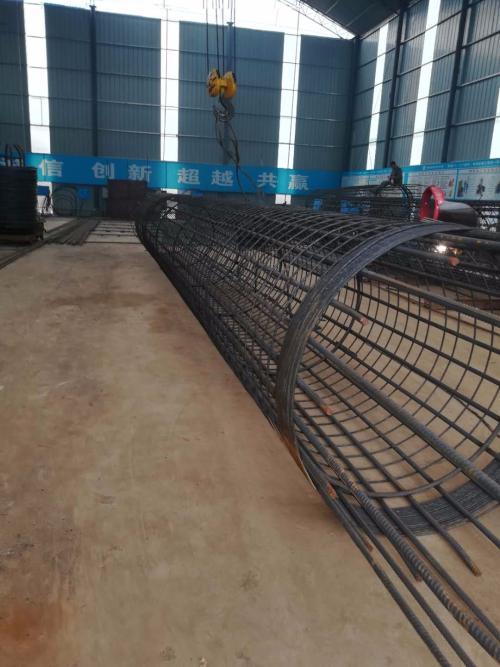 福建省莆田秀屿区钢筋笼成型机钢筋缠筋机10分钟一个笼子