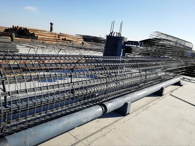 福建莆田市荔城区钢筋笼滚焊机钢筋笼滚笼机全新升级