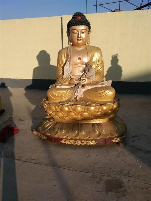 宁德寺庙供应铜雕佛像烁燊雕塑专业定制各类佛像