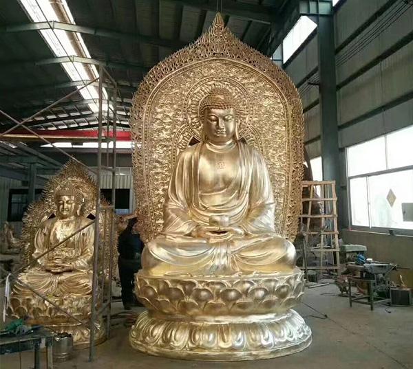 洛阳寺庙供应铜雕佛像烁燊铜雕工艺品有限公司
