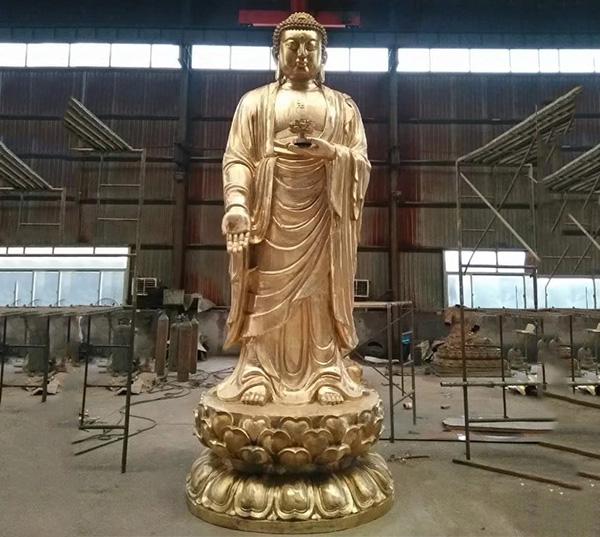 海南寺庙供应铜雕佛像烁燊铜雕工艺品有限公司