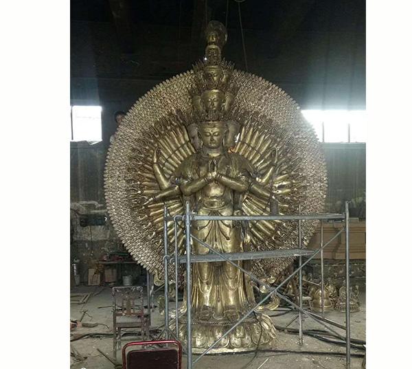 锦州专业定制文殊普贤河北烁燊铜雕工艺品公司