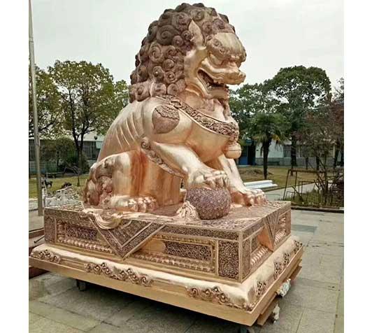 宁德狮子铜雕