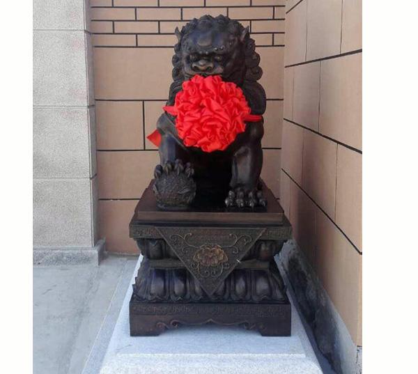 锦州大象铜雕塑