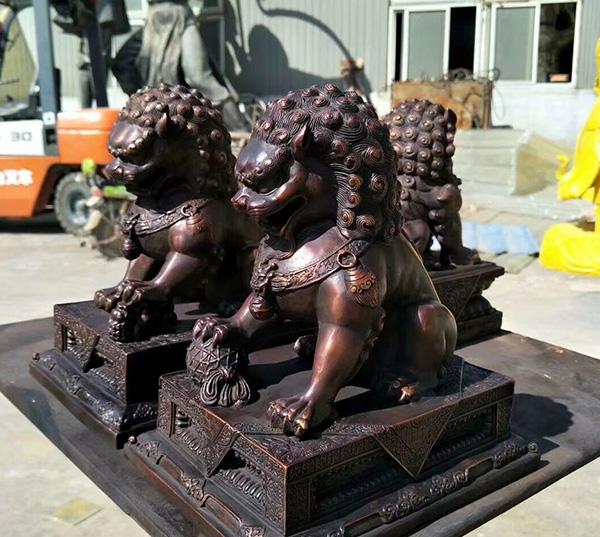 黔西南大象铜雕工艺品