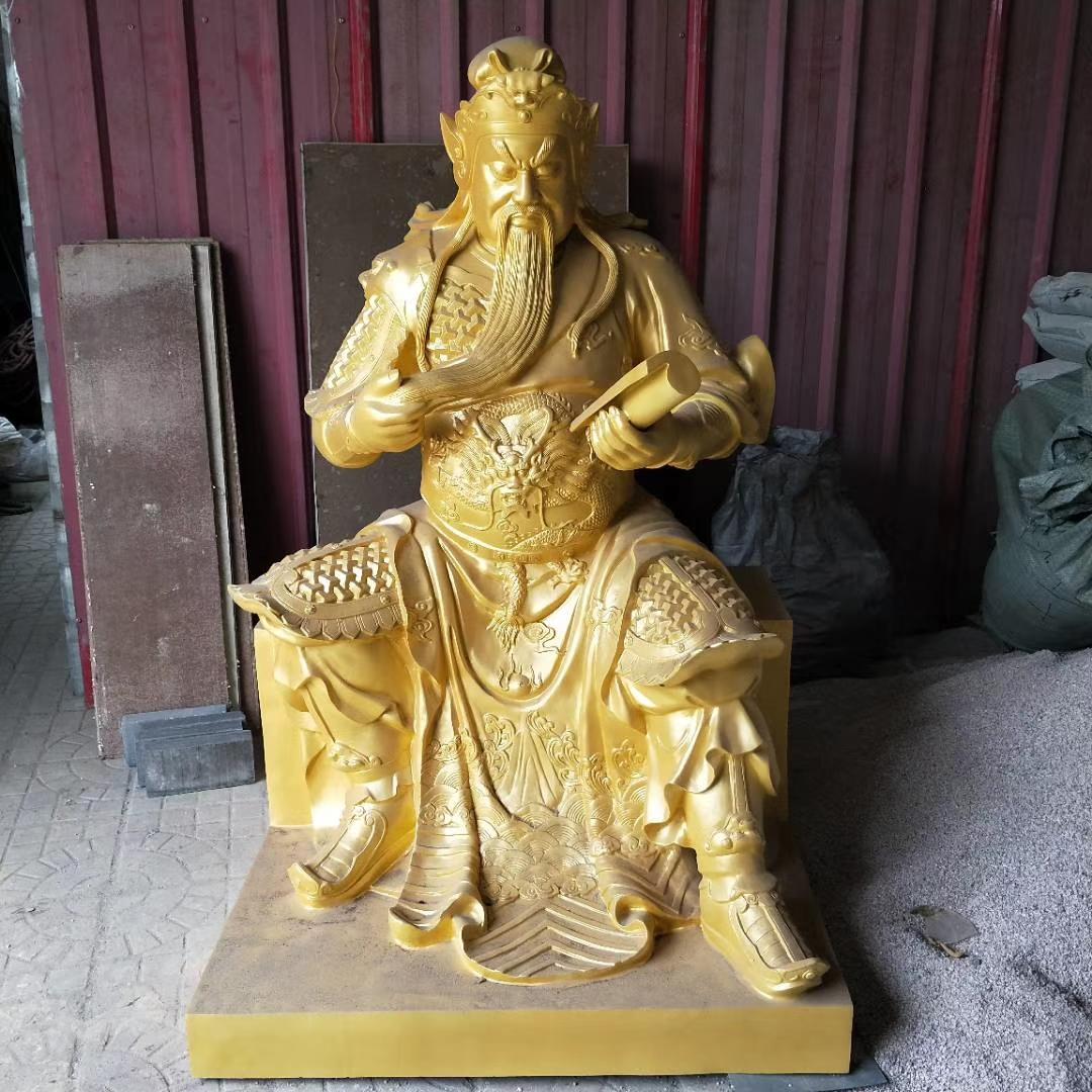 洛阳关公铜雕