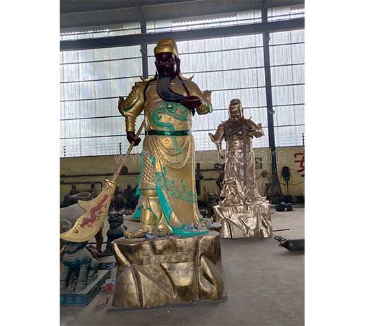 锦州关公像铜雕