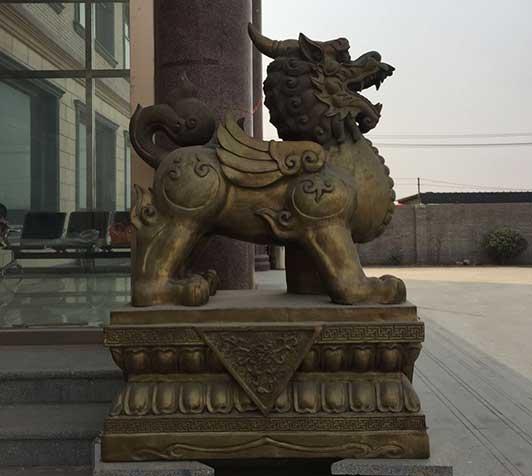 海南铜貔貅工艺品