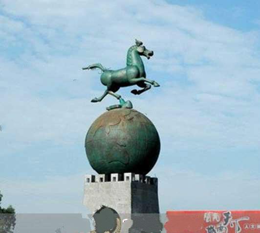 锦州城市广场雕塑铜雕