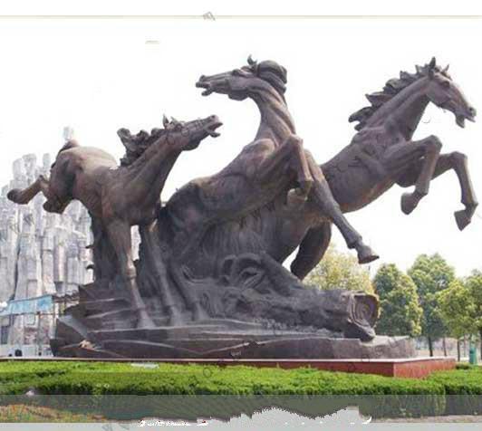东营城市雕塑哪家好认准河北烁燊铜雕工艺品有限公司