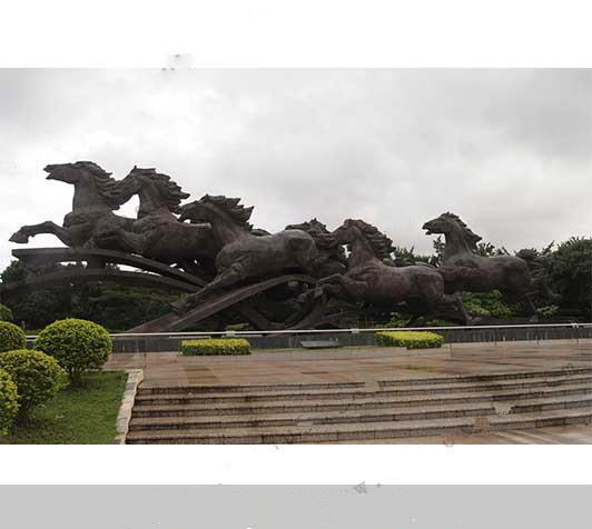 洛阳城市雕塑哪家好认准河北烁燊铜雕工艺品有限公司