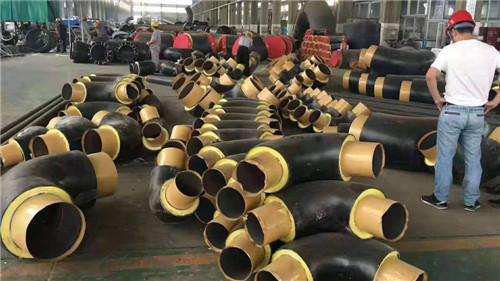 西宁聚氨酯成品直埋保温管生产线
