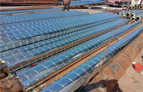 沧州预制式发泡热水保温管生产公司