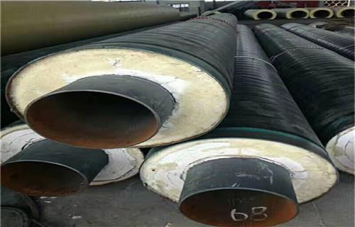 日喀则衬塑热水保温管保温管价格