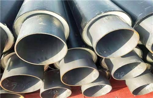 张家界聚氨酯保温管钢套钢预制管