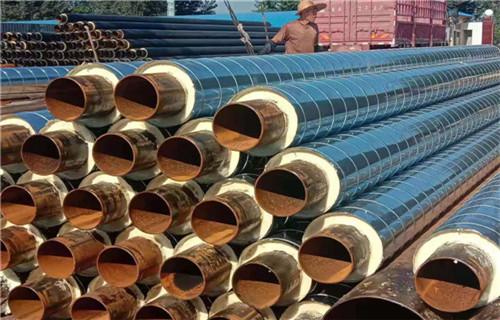 新余钢套钢蒸汽保温管保温管定制