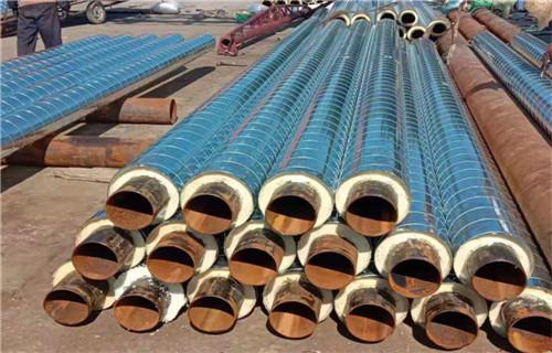 内江钢套钢蒸汽保温管保温管系列