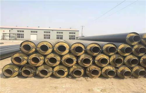 直埋式聚氨酯保温管新余生产结构