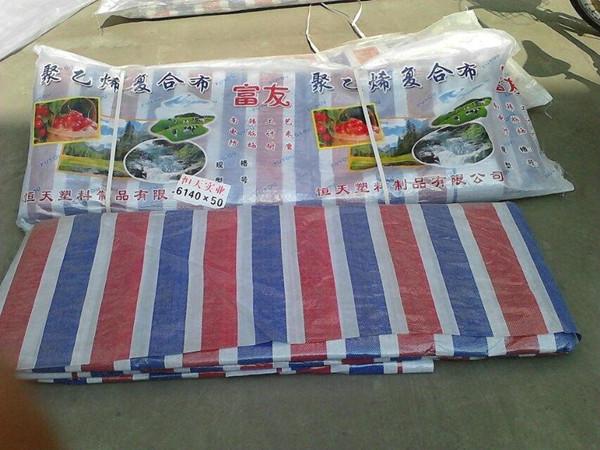 海南单膜彩条布6米多少钱一个