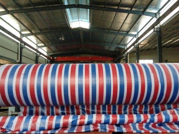 海南彩条布规格8米生产厂家