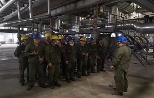 东营 锅炉导流板安装案例