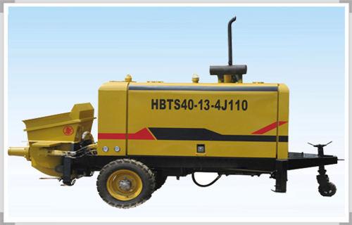 安康煤矿井下用混凝土泵配置曝光