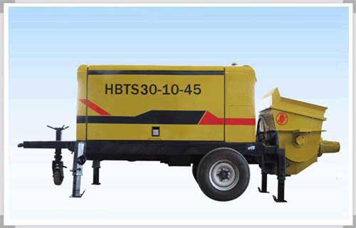 安康煤矿井下专用混凝土泵搭多种动力系统