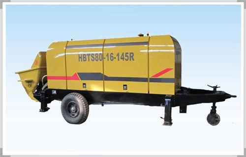 抚州煤矿矿用混凝土输送泵搭多种动力系统