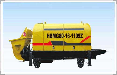威海煤矿井下专用混凝土泵质量着实不一般