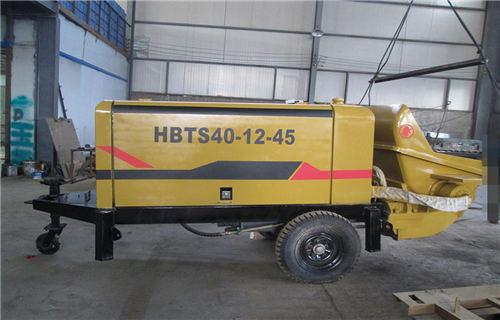 池州煤矿防爆专用混凝土泵用料厚道
