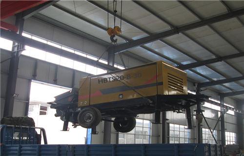 海口煤矿防爆混凝土输送泵配置大幅增加