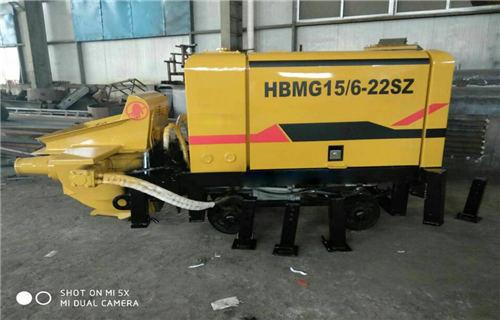 沧州煤矿防爆专用混凝土泵有三种动力搭配售卖