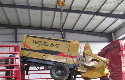 威海混凝土地泵保养九大常识