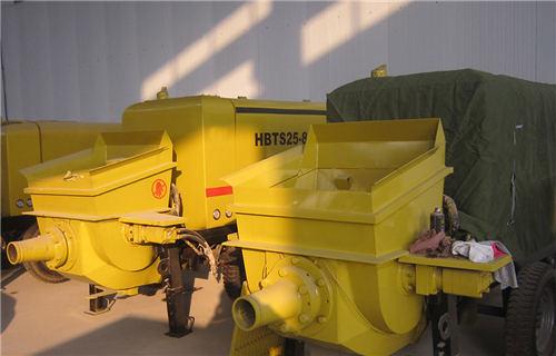 洛阳地面垫层混凝土泵买合资品牌的五大理由