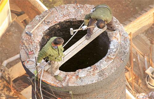 东营报废锅炉烟囱拆除公司价格