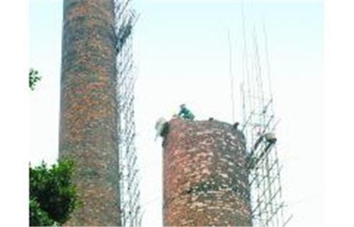黔西南报废锅炉烟囱拆除公司施工方案