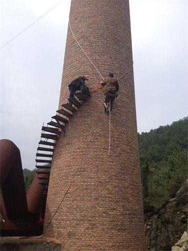 厦门人工拆除40米烟囱价格