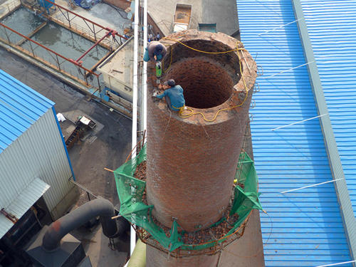 怀化40米烟囱拆除大概费用——华电高空