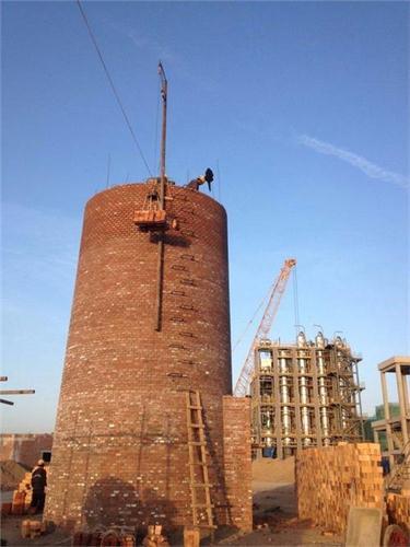 安徽25米砖水塔整体放倒费用——华电高空