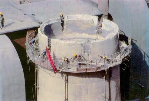 浙江锅炉房烟囱维修价格