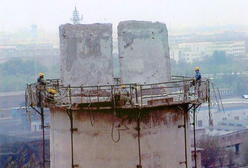 黄冈30米砖烟囱拆除需要多少钱——华电高空