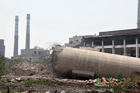内江40米烟囱拆除工程公司——华电高空